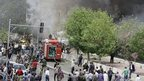 Damascus rocked by deadly car bomb