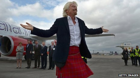 Richard Branson launches new domestic air service
