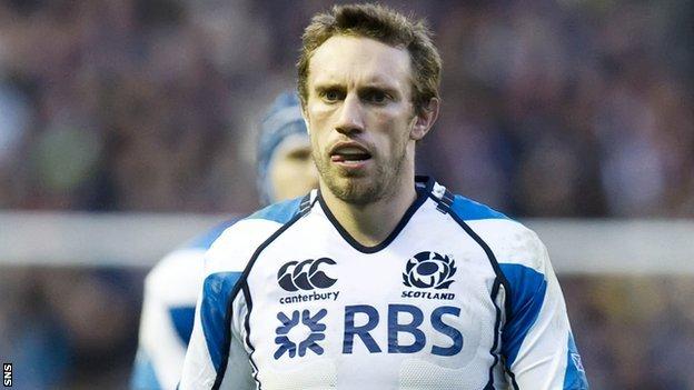 Former Scotland international Mike Blair