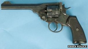1917 Webley and Scott revolver