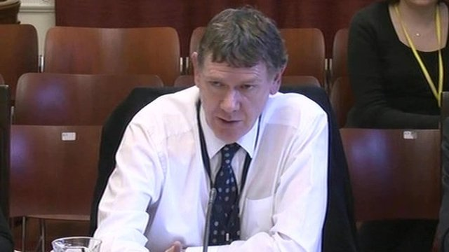 Health department permanent secretary Dr Andrew McCormick