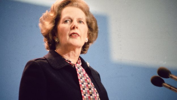 Margaret Thatcher 1985
