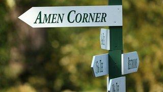Amen Corner at Augusta