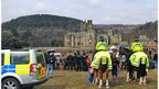 Margam Country Park and police