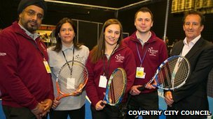 Coventry ambassadors at Ricoh Arena
