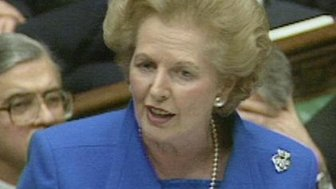 Baroness Thatcher in the Commons