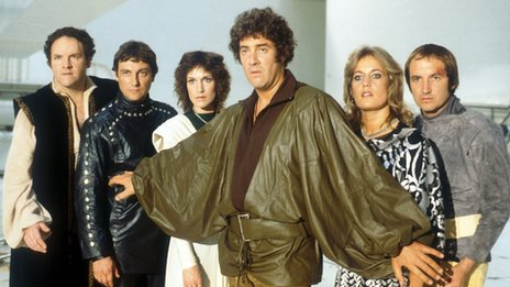 The cast of Blake's 7