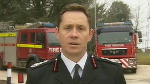 Devon and Somerset chief fire officer Lee Howell