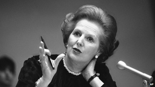 Margaret Thatcher in 1982