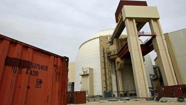 The Bushehr nuclear plant