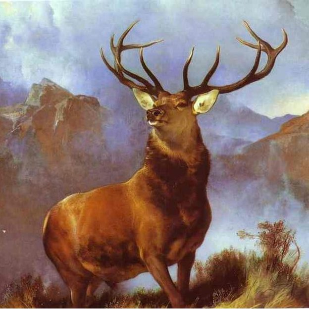 Monarch of the Glen: Sir Edwin Landseer