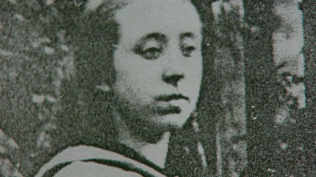 Mary Potter as a young woman.