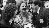 Kevin Keegan, Margaret Thatcher, Emlyn Hughes