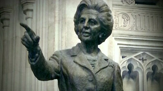 Statue of Margaret Thatcher