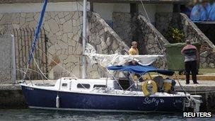 The Hakkens' boat