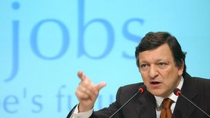 European Union Commission President Jose Manuel Barroso