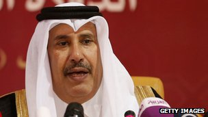 Prime Minister Sheikh Hamad bin Jassim al-Thani