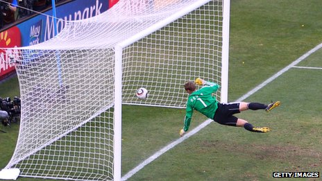 Frank Lampard strike in World Cup 2012
