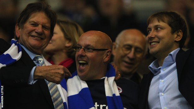 Reading chairman John Madejski, former boss Brian McDermott and owner Anton Zingarevich