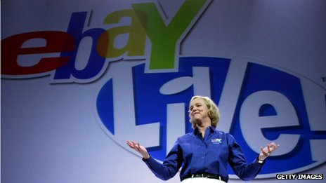 Meg Whitman at an eBay event