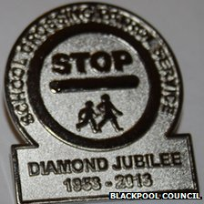 School crossing patrol badge