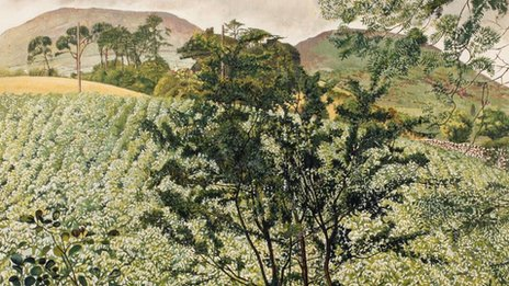 Potato Patch, Rostrevor by Sir Stanley Spencer