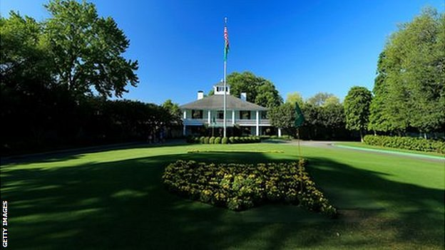 Clubhouse at Augusta National Golf Club