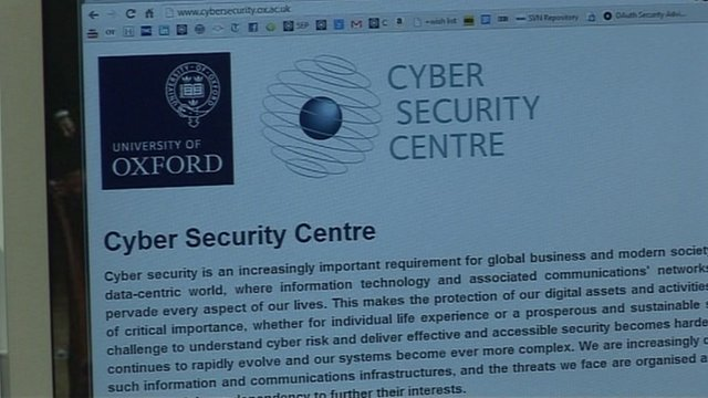 Cyber security centre website