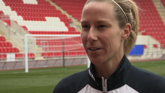 Lincoln Ladies goalkeeper Karen Bardsley