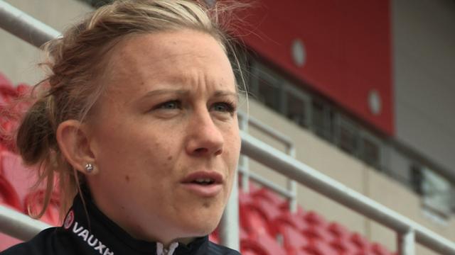 Birmingham City Ladies captain Laura Bassett