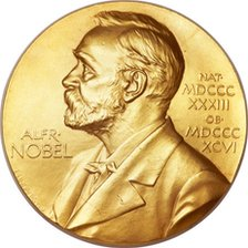 Nobel Prize medal awarded to Francis Crick
