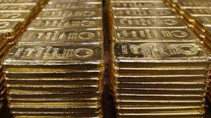 Ράβδους χρυσού