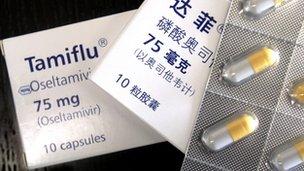 Tamiflu tablets