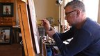 Jack Vettriano: artist at work