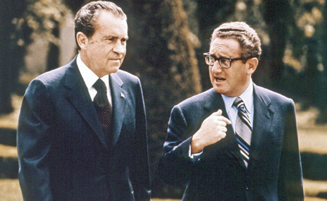 President Nixon and Henry Kissinger