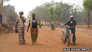Pedestrians in Bamako