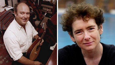 Louis de Bernieres and Jeanette Winterson