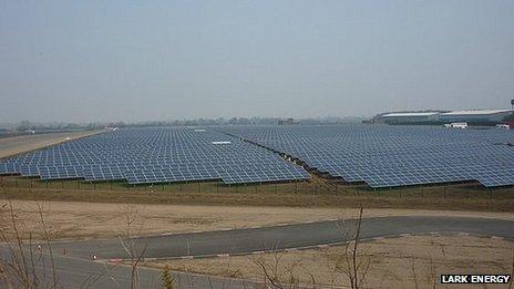 Wymeswold solar farm