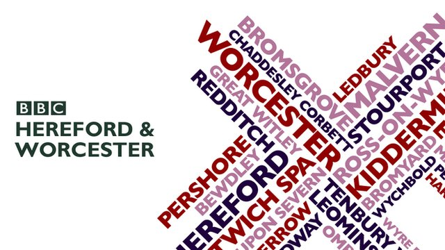 BBC Hereford and Worcester logo