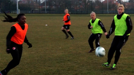 Lincoln Ladies training