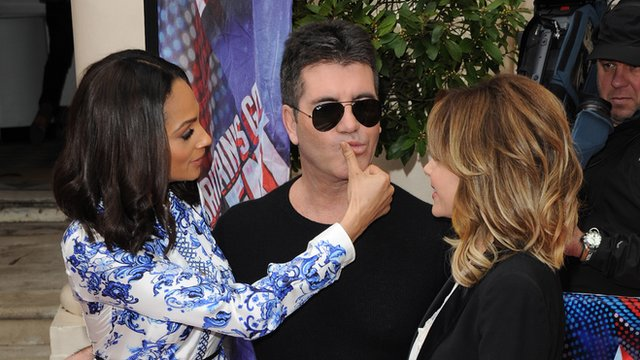 Britain's Got Talent judges Alesha Dixon, Simon Cowell and Amanda Holden.