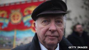 Arthur Scargill in 2012