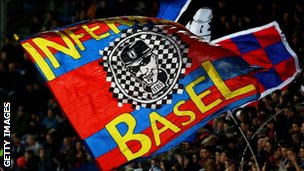 Basel supporters