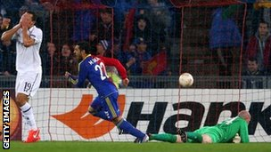 Mohamed Salah scores for Basel