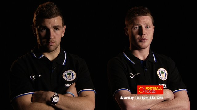 Wigan's James McArthur and James McCarthy