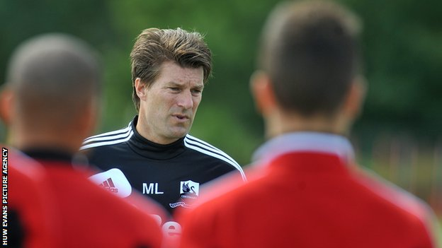 Swansea City manager Michael Laudrup