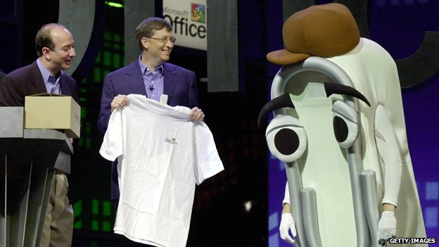 Clippy and Bill Gates