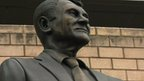 Statue of Sir Bobby Robson at St James' Park