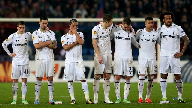 Tottenham are knocked out by Basel