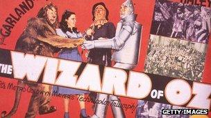 Wizard of Oz lobby card